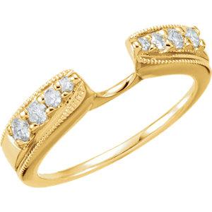 14K Yellow 1/4 CTW Diamond Enhancer