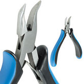 Stuller Comfort Grip Chain Nose Bent Pliers