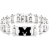 Michigan Wolverines Logo Bracelet