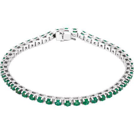 Emerald Line Bracelet
