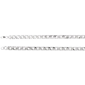 Sterling Silver Curb Chain 12.3mm