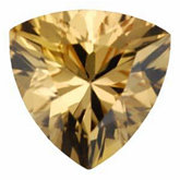 Trillion Genuine Golden Precious Topaz (Black Box)