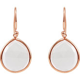 Genuine Quartz Earrings