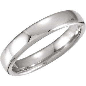 Euro-Style Light Comfort-Fit Wedding Band