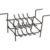 Coated Double Ring Rack