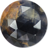 Round Genuine Included Blue Sapphire