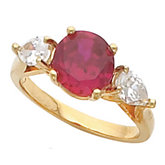 Ring Mounting for Round Gemstone