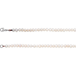 Freshwater Cultured Pearl Bracelet or Necklace