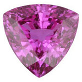 Trillion Genuine Pink Sapphire (Black Box)
