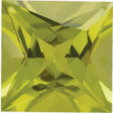 Square Genuine Peridot