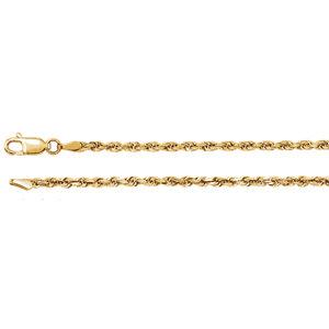 Rope Diamond-Cut Chain 2.5mm
