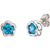 BFlower™ Cubic Zirconia Stud Earrings