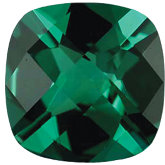 Antique Square Imitation Emerald