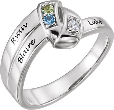 Engravable Family Ring