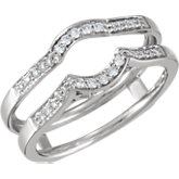 1/5 ct tw Diamond Ring Guard