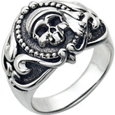 Men's Skull Fashion Ring