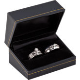 Diamond Wedding Set with Box