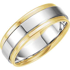 Two-Tone 7.5 mm Band