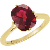 Solitaire Ring Mounting for Antique Cushion Gemstone