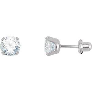 CZ Piercing Earrings