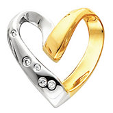 Heart Chain Slide Mounting