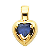 Pendant Mounting for Heart -Shaped Center