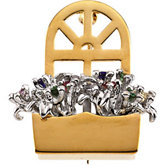 The Original Window Box Brooch