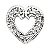 Heart Pendant Slide Mounting