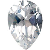 Pear Imitation Diamond