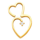 Heart Shape Chain Slide Mounting