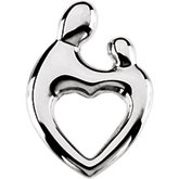 Mother and Child® Heart Pendant