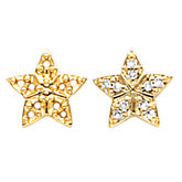 Star Shape Earring Mounting
