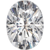 Oval Lab Created Moissanite