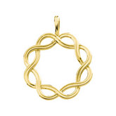 Gold Fashion Pendant