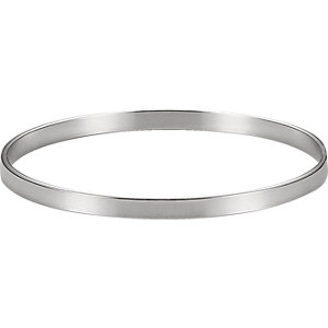 Sterling Silver 4.75mm Bangle Bracelet