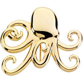 Octopus Brooch