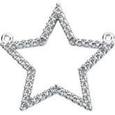 Petite Star  Necklace Center Mounting