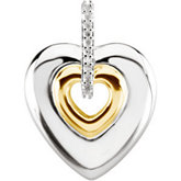 Heart Pendant Mounting