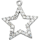 Petite Star Dangle Mounting