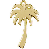 Petite Palm Tree Dangle