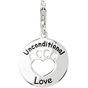 Heart U Back™ Unconditional Love Paw Charm