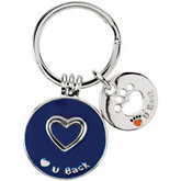 Heart U Back™ Companion Key Ring