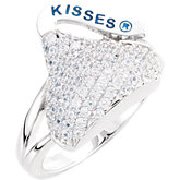 HERSHEY'S KISSES® Cubic Zirconia Ring