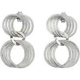 Sterling Silver Fashion Earrings w/backs