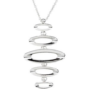 Sterling Silver Fashion Necklace