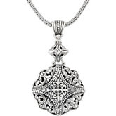 Filigree Design Pendant