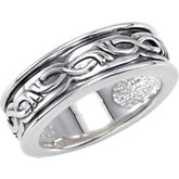 Decorative Metal Fashion Ring