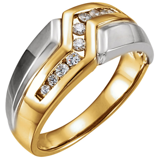 Man's Diamond Ring