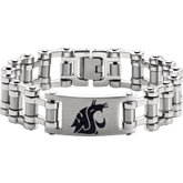 Washington State Cougars Logo Bracelet