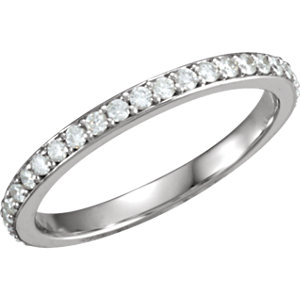 Diamond 3-Stone Accented Engagement Ring or Band